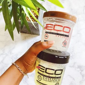 eco styler gel | natural hair products | products to sleek down edges | gels |