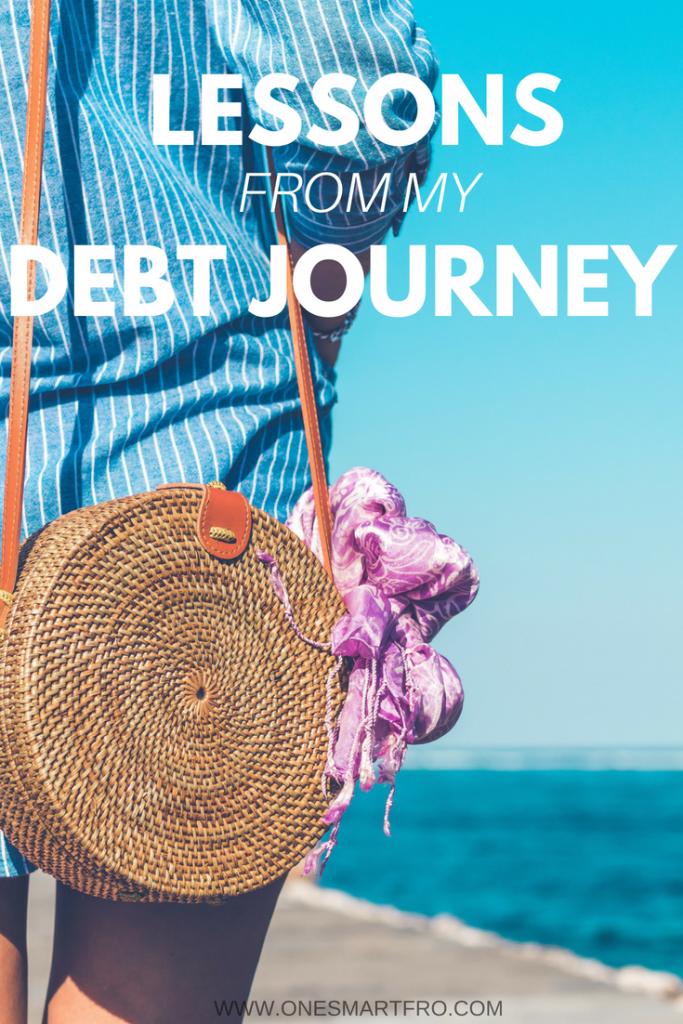 debt journey taught me, debt journey, lessons from debt, debt free